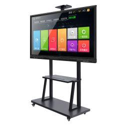 Todo en uno de los 55 65 75 86 98 Pulgadas de pantalla táctil Smart Pizarra electrónica para la educación en las aulas