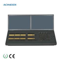 Déplacement de l'étape de la tête de lumière LED DMX512 du contrôleur console d'éclairage Ma