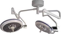 LEIDENE Dubbele Hoofd Chirurgische Lichte LED7050 voor Noodsituatie, Gynaecologie/Verloskunde