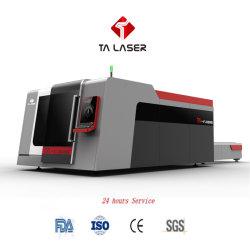 Tagliatrice del laser della fibra della Tabella della spola della Tabella di scambio per acciaio dolce, taglio dell'acciaio inossidabile