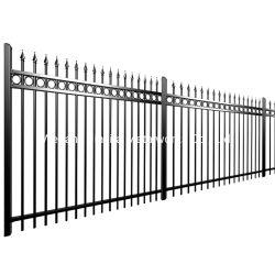 Régua de aço Barreira de Segurança Lança Picket Painel da Barragem da Barragem de jardim barreira comercial