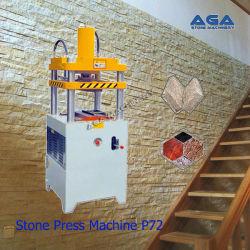 敷石(P72)を押す花こう岩の大理石の出版物機械