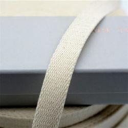 Katoenen van de Kleur van 2.5 Cm Natuurlijke Singelband voor het Handvat van de Zak