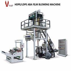 LDPE HDPE ABA Extruder Plastic Film Blaas machine