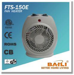 Populares 1500w/2000W de elevada eficiência aquecedor ventilador com termóstato
