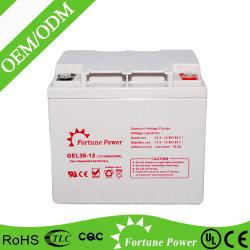 Gel-Zellen-Batterie des China-Facotry Preis-12V 38ah nachladbare