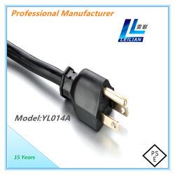 Япония в стандартный электрический шнур питания с 7A/12A/15A PSE сертификат