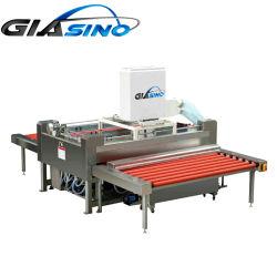 В горизонтальном положении стекла стиральная машина с высокой скоростью