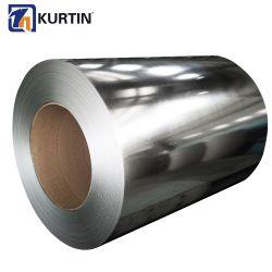建築材料亜鉛は鋼鉄コイルによって電流を通された鋼鉄コイルに塗った