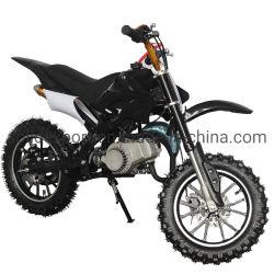 Commerce de gros démarrage électrique 49cc Dirt Bike pour les enfants Sport avec feux d'essence