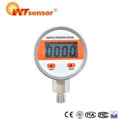 Calibro di pressione d'aria intelligente dell'olio dell'uscita di Samrt Digital per ingegneria industriale & industria idraulica PCM560