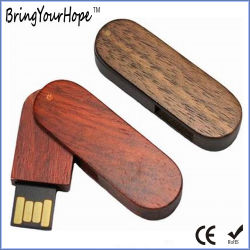 8GB 16GB 목재 트위스터 USB(XH-USB-001W)