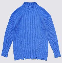 Kleidung-Form-Pullover Wolle-Mischungs-der Strickjacke zerrissenen Pullover-Frauen
