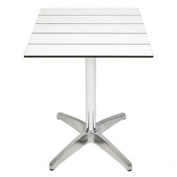 Restaurante al aire libre muebles laminados de compacto HPL Restaurante mesa de comedor/Bar mesa