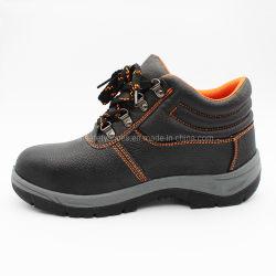 Cuir véritable Hommes/Femmes Chaussures de sécurité Chaussures de sécurité de chaussures de travail avec une bonne qualité