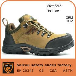 Puntera de la escalada de la fábrica de zapatos de seguridad Ce (SC-2216)