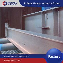 Estructuras de acero de transportadores de rodillos abrasivos Granallado máquina