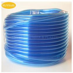 PVC transparent en plastique clair mono couche souple tube flexible d'eau