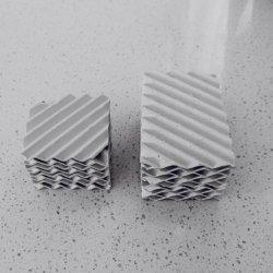Keramische strukturierte gewölbte Platten-Verpackung für Schwefelsäure-Absorptions-Spalte-Aufsatz