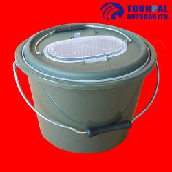 15L konnte Klima-pp. Fischen-Gerät-Kasten-Phasenköder-Wanne Luftpumpe anbringen