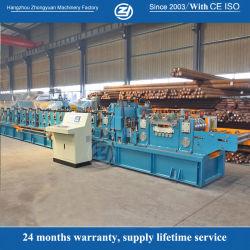 PPGI PPGL Pre-Cutting automatique d'entraînement de chaîne en acier galvanisé C/Z prix d'usine panne machine à profiler avec la norme ISO9001/ce/SGS/Soncap