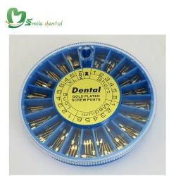 120 ПК стоматологических винт с золотым покрытием должностей поперечной головки блока цилиндров