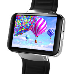 "Smart Watch Card-Inserted 2.2 GPS"" Display Smart Phone avec LED Dual Core 1.2G 900mAh caméra WiFi GPS 3G QQ APP pour Smartphone"