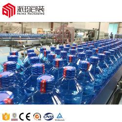 A a Z tipo rotativo 3 em 1 de Água Mineral / Purificador de Água / água engarrafada / Linha de Produção de Água Potável / máquina de enchimento/engarrafamento para projeto de água turnkey