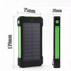 Для мобильных ПК солнечной энергии на питание 20000 mAh портативный большие возможности мобильного телефона зарядное устройство