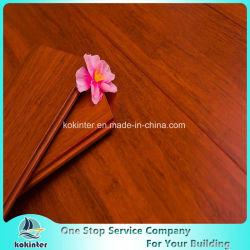 Pavimentazione di bambù tessuta filo dell'interno eccellente cinese di uso di colore del teck di qualità con il prezzo poco costoso