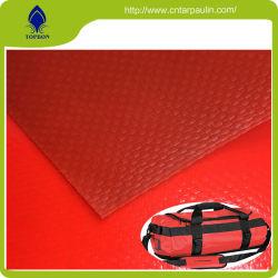 Lona de PVC impermeável 500d Tecido de poliéster com revestimento de PVC para carro retráctil Bag TAMANHOS DE TOLDO