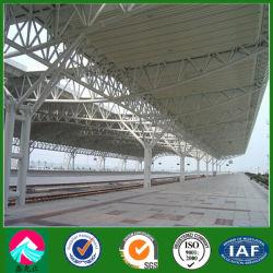 Structure en acier de construction préfabriqués pour station de chemin de fer (XGZ-SSB145)