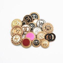 Нанесите на резьбу Zinc-Alloy Ветровку кнопки для женщин с Outerwear шерстяной круглой кнопки и кнопки Western-Style