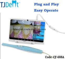 Plug & Play de Alta Definição CCD Câmera Intraoral Dental (CF-688A)