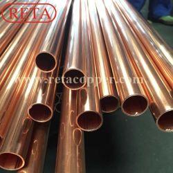 Typ L, M, K-kupfernes Rohr-/Copper-Gefäß des Fabrik-Preis-Astmb88 C12200 für Wasser-System