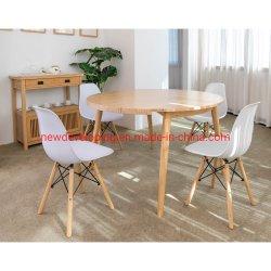 5-pièces populaires de l'Extension de conception simple Table à manger Salle à manger, Panneau de meubles en bambou