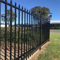 Австралия 2.4mx1.8m трубчатой стальной Геркулес фехтование панелей/Post/черной металлургии Hercules Hercules стальные ворота