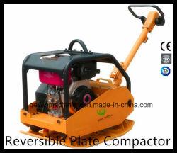 Umschaltbares Platten-Dieselverdichtungsgerät mit duktiler Eisen-Platte Gyp-50