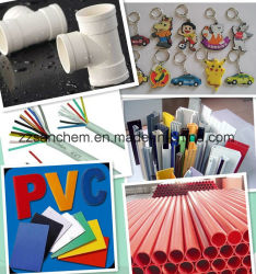 Resina Sg5/Sg3 del PVC per la pellicola del PVC, tubo del PVC, montaggio del PVC