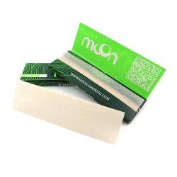 Premium marca personalizada material fábrica de papel 100% orgânicos puro papel de cânhamo acessórios para fumadores de plantas de tabaco de fumar cigarros Papers fábrica preço grossista