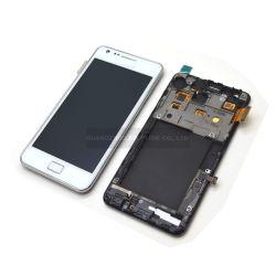 سعر الجملة لجمعية شاشات LCD Samsung Galaxy S2 I9100 مع الإطار (SIL0003)
