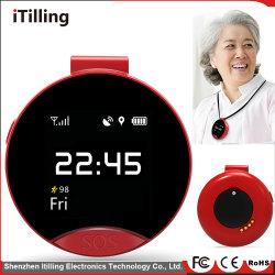 Moda niños Tracker GPS Reloj inteligente los teléfonos móvilespara los niños las niñas con sos Pantalla táctil en color de la cámara de alarma de ranura SIM