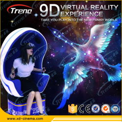 360 grados de rotación de la Realidad Virtual 9D Cine Vr huevo