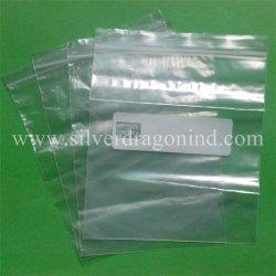 Writable PE Zip Sacos para embalagem partes separadas de bloqueio