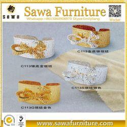 La mode Gold Rhinestone Pearl serviette anneau pour décoration de table