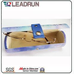 Sol de envases de vidrio aluminio EVA caso gafas gafas Gafas de Metal Case Caja de gafas de óptica de vidrio de hierro (HXX11b)
