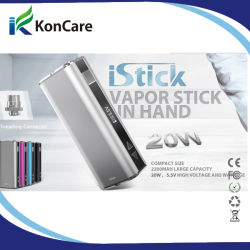 Echtes MOD u-20 Istick Simple Pack 20W 2200mAh Battery mit OLED Screen Variable Wattage Device
