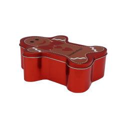 Estanho na forma de biscoito especial caixa Cookies metal de estanho Alimentar Tin Embalagem para doces de chocolate e snack-