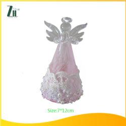 クリスマスの装飾ガラスの天使