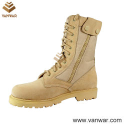 Goodyear Welt désert militaire bottes avec crochet et boucle de fermeture (WDB010)